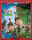Prep & Landing and Prep & Landing: Naughty vs. Nice Blu-ray + DVD cover art -- click for larger view and our review
