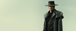 Shady antagonist Black Hat (Karl Urban) is not like other former priests.