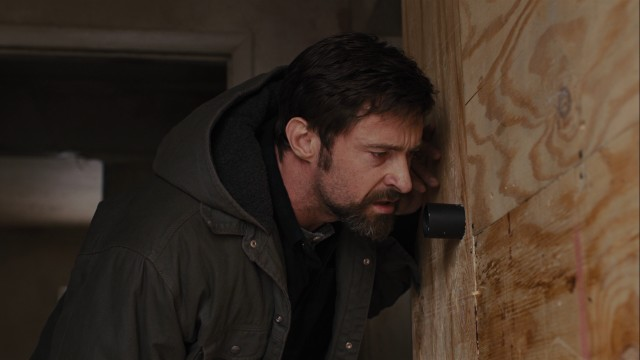"Keller Dover (Hugh Jackman) goes to extreme lengths to find his missing daughter in ""Prisoners."""