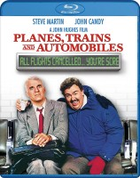 Planes, Trains & Automobiles Blu-ray cover art click to buy from Amazon.com