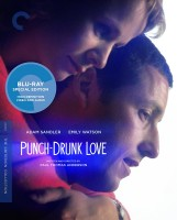 Punch-Drunk Love: The Criterion Collection Blu-ray Disc cover art -- click to buy from Amazon.com