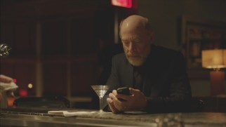 After learning of Henry Phillips, Hollywood producer Jay Warren (J.K. Simmons) promptly looks him up on his smart phone in this deleted bar scene.