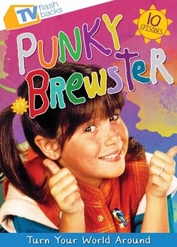 Punky Brewster: Turn Your World Around DVD cover art -- click to buy from Amazon.com