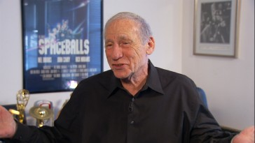 Mel Brooks mostly repeats stories you just heard in this 2012 interview, the Blu-ray's newest and only HD bonus feature.