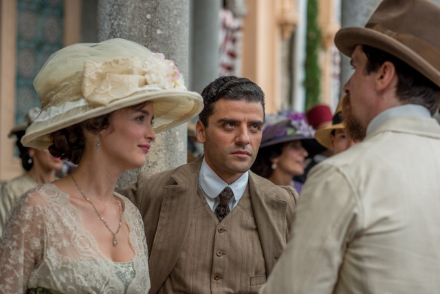 """The Promise"" centers on Mikael Boghosian (Oscar Isaac), an Armenian man studying medicine in Turkey during the collapse of the Ottoman Empire."