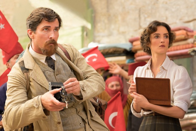The storyline that comes closest to gripping involves Associated Press journalist Chris Myers (Christian Bale), not his Armenian-French girlfriend Ana (Charlotte Le Bon).