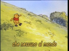 Sing with Pooh...in Italian!