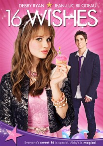 Disney's 16 Wishes (2010) DVD cover art -- click for larger view and to buy DVD from Amazon.com