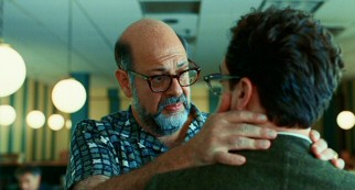 Sy Ableman (Fred Melamed), the man that plans to marry Larry's soon-to-be ex-wife, places a high value on a good firm hug.