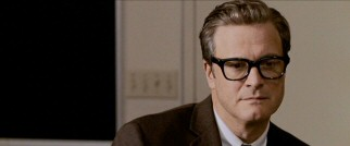 George Falconer (Colin Firth) lets his mind wander during the dull English class he intends to make his last.