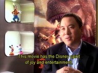 The screen-sharing figurines and subtitled remarks of Chinese managing director Stanley Cheung remind you that this is a Disney production.