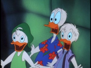Louie, Donald, and Dewey were scared off of television by Disney executives after just 39 episodes.