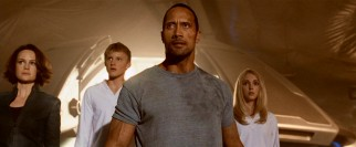 Jack (Dwayne Johnson) leads another turnaround, this time yielding a heroic 4-star line-up on the platform of a spaceship.