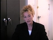 Virginia Madsen reads for the part of Jackie Lemancyzk in this screen test.