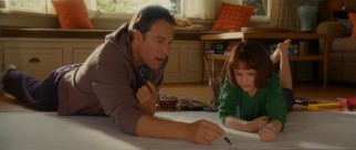 Father (John Corbett) and daughter (Joey King) use their homebound afternoon together to create the longest drawing in the world.
