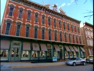 "The legitimately haunted Plaza Hotel, where the cast of ""Red Dawn"" stayed, is discussed in ""WWIII Comes to Town"", a look at filming in Las Vegas, New Mexico."