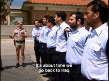 Reno's finest train Iraqi police with the aid of a disrespectful interpreter.