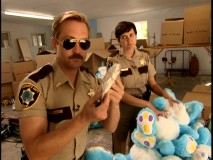 Dangle and Wiegel's coked-up raid of a stuffed bunny doll warehouse is the standout among four extended scenes provided.