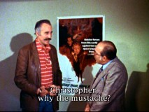 Spanish journalist Pepe Lupi cuts right to the chase and asks Christopher Lee about his bigote (mustache) in this lost-yet-found 1978 interview.