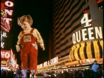 "The ""Disney Kids with Powers"" montage includes giant toddler Adam Szalinski who wields the power to crush Las Vegas pedestrians in ""Honey, I Blew Up the Kid"" (or as Disney calls it here, ""Honey, I Blew Up the Baby"")."