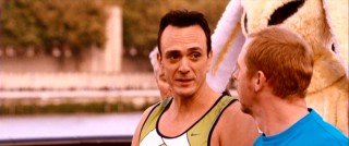 On the day of the big race, Whit (Hank Azaria) is right there to undermine and challenge Dennis.