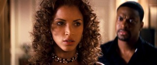 Chic and targeted French supermodel Genevieve (Noemie Lenoir) is offered plenty of consolation from Detective Carter.