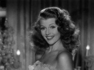 """Me?"", Gilda (Rita Hayworth) asks as viewers get their first glimpse of her."
