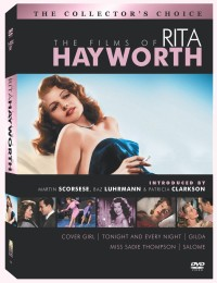 The Films of Rita Hayworth: The Collector's Choice DVD cover art - click to buy