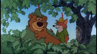 Robin Hood and Little John hidin' in the forest... oo-de-lally, oo-de-lally, golly what a day.