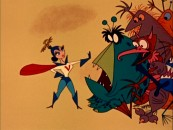 "Imaginative, fun animation from Ward Kimball is the best part of ""Mars and Beyond"", the 50-year-old Disneyland episode that's included."