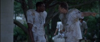 Defensive linemen Julius Campbell (Wood Harris) and Gerry Bertier (Ryan Hurst) are the most prominently-featured Titans.