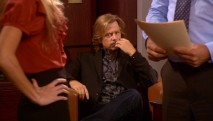 Russell (David Spade) observes Jeff's interactions with a work colleague in the Season 5 premiere.