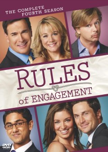 Rules of Engagement: The Complete Fourth Season DVD cover art - buy from Amazon.com