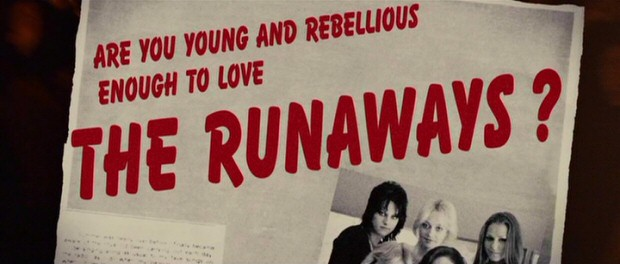 """Are you young and rebellious enough to love The Runaways?"" A magazine's headline question could perhaps also be applied to the film."