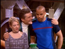 "Required community service brings Sabrina close to Bobby Calzone (Fred Willard) and his nephew Dashiell (Donald Faison, of ""Clueless"" and ""Scrubs"") in ""Rumor Mill."""