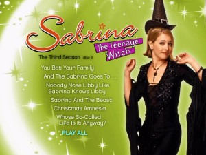 On the Disc 2 menu, Sabrina's dressed like a typical Halloween witch, something she just about never is.