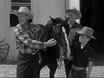 """Logan's Lesson"" has the ranch owner instructing the campers, naturally."