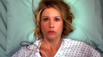 Samantha moves from comatose to amnesiac in the opening moments of the pilot episode.