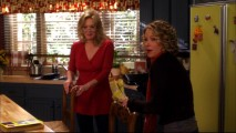 "Jean Smart and Christina Applegate get goofy during a flubbed take from the short ""Samantha Whoops?"" outtakes reel."