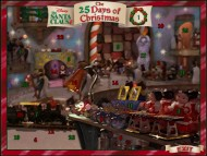 "The Flash-animated Advent calendar ""25 Days Till Christmas"" is one of two DVD-ROM bonuses."