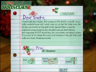 Write a letter to Santa, but you're not guaranteed a response.