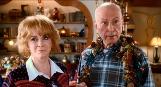Award-winning movie legends Ann-Margret and Alan Arkin play Carol's earthbound parents, who aren't up to speed on their son-in-law's real job.