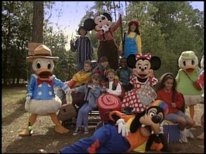 Disney personalities, ordinary '90s kids, and camping. What more could you want? Oh yeah, music.