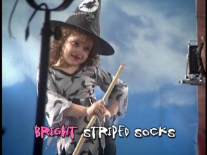 If witches were little girls who did photo shoots, then I guess this would make sense.