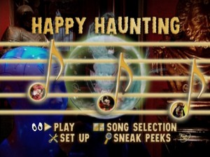 Sing Along Songs Happy Haunting Party At Disneyland Dvd