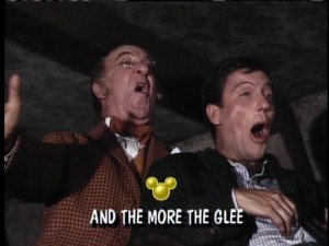 Uncle Albert and DVD share a moment in the glee club.