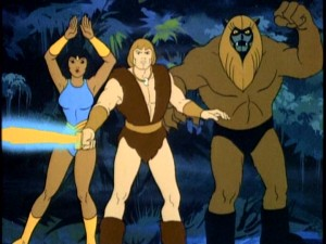 The oldest and most beloved of the DVD's eleven programs stars Princess Ariel, Ookla the Mok, and, front and center, eponymous hero Thundarr the Barbarian.