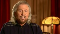 "A regal-looking Barry Gibb discusses the Bee Gees' musical contributions to the film in ""Making Soundtrack History."""