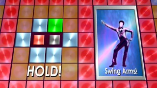 """Fever Challenge!"" is like a short, Saturday Night Fever version of Dance Dance Revolution."