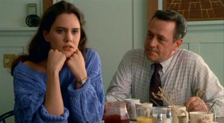 James Court (John Mahoney) discourages his daughter Diane (Ione Skye) from dating Lloyd.